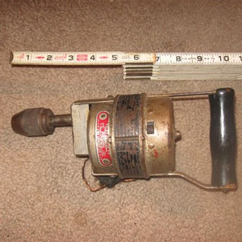 "Chicago Electric Co. ""HandyDrill""."