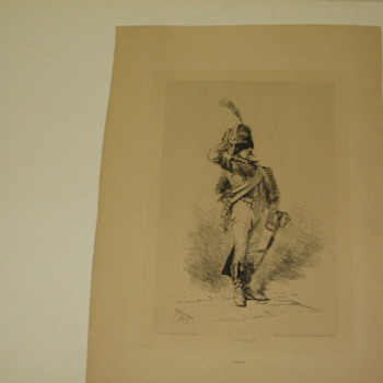 Le Salut lithograph