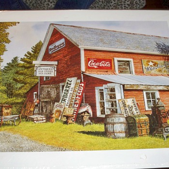 Michael  Davidoff Lithograph Print - Posters and Prints