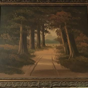 Antique painting  - Visual Art