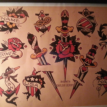 Tattoo flash - Folk Art