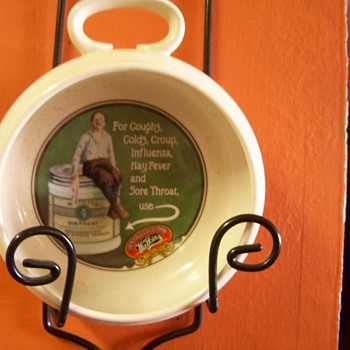 "1992 Watkins Heritage Collection ""Medicated Ointment"" Soup Bowl #7905"