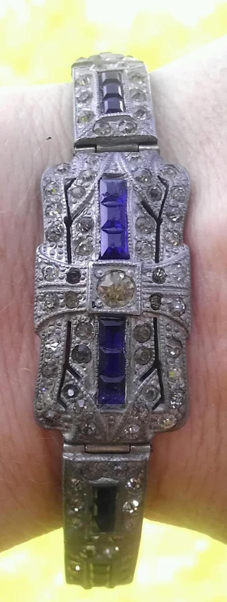 Art deco costume bracelet collectors weekly for Art deco costume jewelry