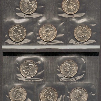 "2001 - U.S. ""State Quarters"" Mint Set - US Coins"