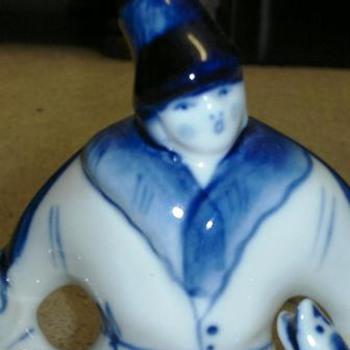 Porcelain  figurine  - Asian