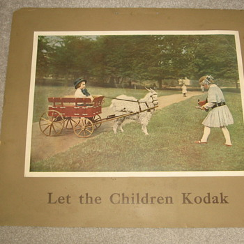 Let The Children Kodak - Advertising