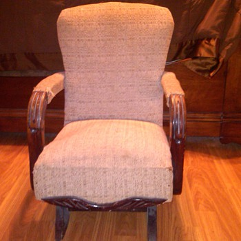 My Great Aunts chair  - Furniture