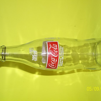 Vintage Argentina Coca-Cola Glass Bottle