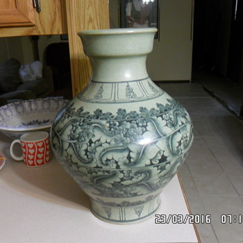 unknown vase