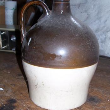 Unusual shaped jug - Bottles