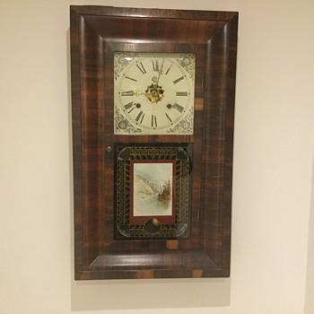 Westbury hanging clock