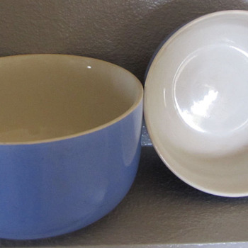 My Favorite Blue Mixing Bowls