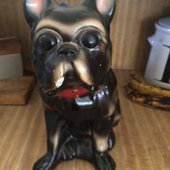 French Bulldog Piggy Bank - Animals