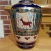Nippon Vase with Deer