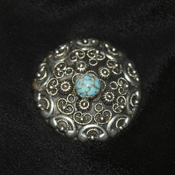 ALP (Italy?) Vintage Brooch - Costume Jewelry