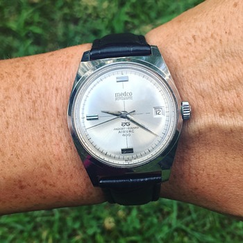 Vintage Swiss Medco Automatic Wrist Watch