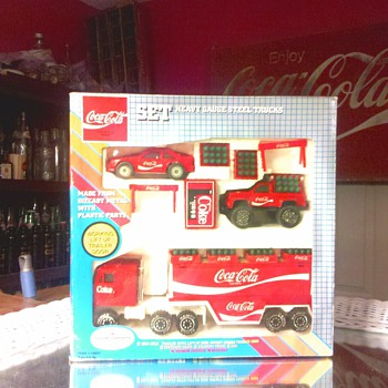 coca cola truck set - Coca-Cola