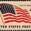 """1959 - """"U.S. Flag Issue"""" Postage Stamp (US)"""