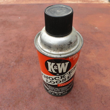 K & W Knock'er Loose Penetrating Lube - Petroliana