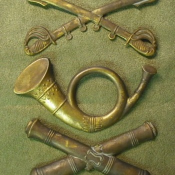 Civil War Cap Insignia – Real or Memorex? - Military and Wartime