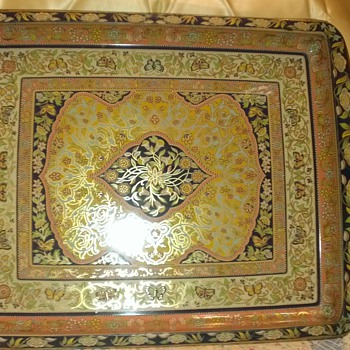 Persian Carpet pattern tray