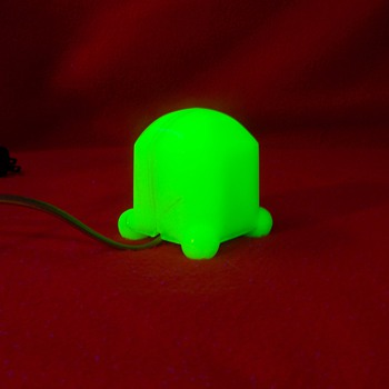 Houze Vidrio Uranium Slag Glass Electric Lighter