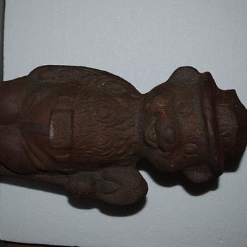 Cast Iron Smokey Bear