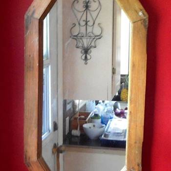 Window Frame turned Mirror