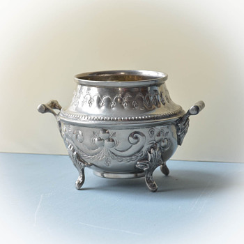 Arabic Vase or Sugar Bowl