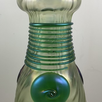Loetz Ausführung 59 Vase, PN II-5598, ca. 1908 - Art Glass
