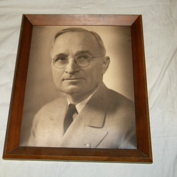1945 Harry S. Truman Portrait by Fabian Bachrach - Photographs