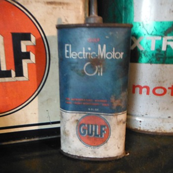 Motor oil stuff from last weekend - Petroliana