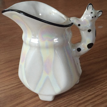 Czech Creamer - Art Pottery