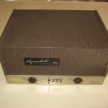 Dynaco Dynakit 70 Tube Amplifier - Electronics