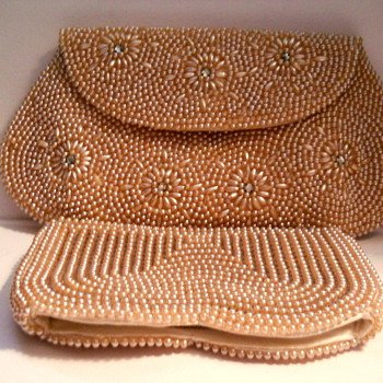 Japan Faux Pearl Evening Bags