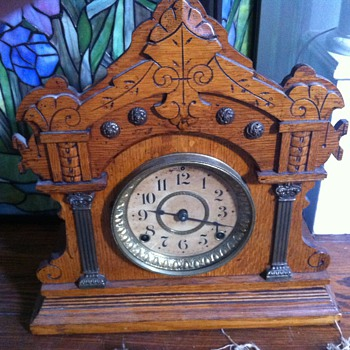 wondering about this seth thomas clock - Clocks