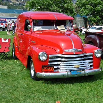 My Favorite 1953 CHEVY Panel Truck  - Classic Cars