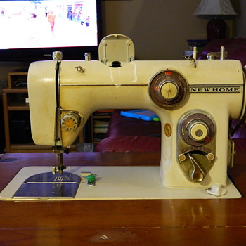 New Home Model # 672 Cabinet Sewing Machine