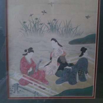 Japanese Woodblock? - Asian