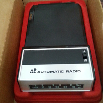 automatic radio model no. AFM-9219 am-fm radio tuner cartridge