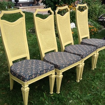 Highback canned chairs - Furniture
