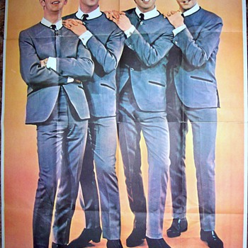 Beatle Poster over 5 feet ! tall... - Music