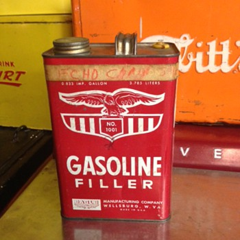 Gasoline Filler Can - Petroliana