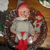 Vintage Extra Large Musical Knee Hugger Elf