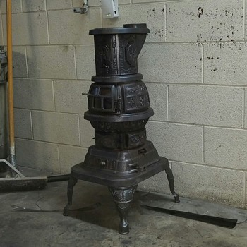 This coal burner is called pearl - Kitchen