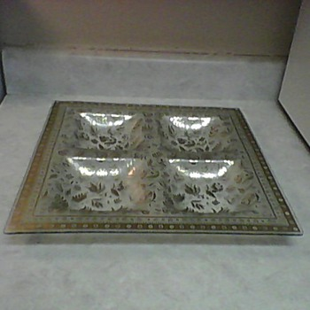GEORGE BRIARD SNACK TRAY