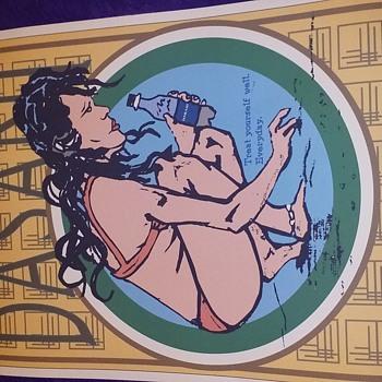 Dasani Water art - Advertising