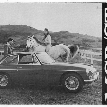 1968 - MGB GT Mark II Sales Brochure - Advertising