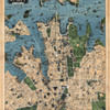 Robinson's map of Sydney, Australia (1922)