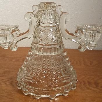 Eapg Candelabra?  - Glassware